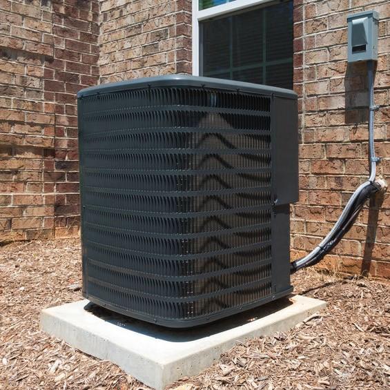 HVAC system outside